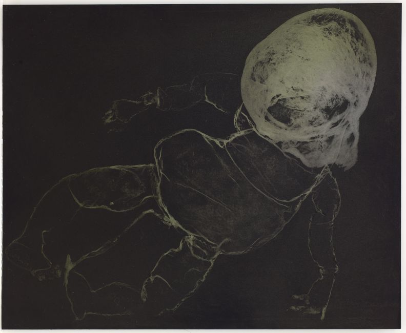 Click the image for a view of: Rosemarie Marriott. eiesoortig. Polymer etching plate